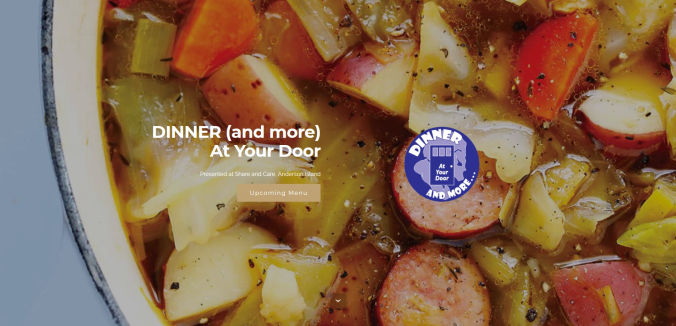 Dinner (and more) at Your Door responsive web site